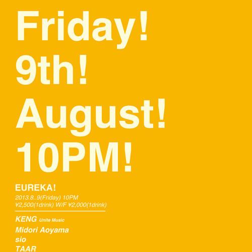 Midori Live Mix EUREKA! August 2013